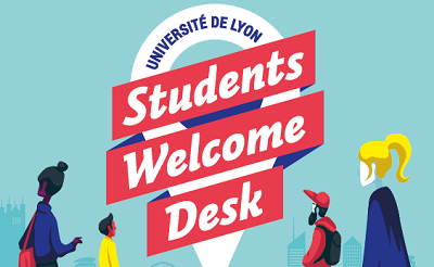 Le Students Welcome Desk