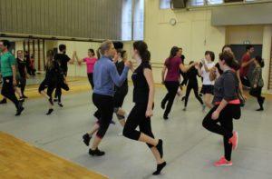 Danser irlandais à Villeurbanne